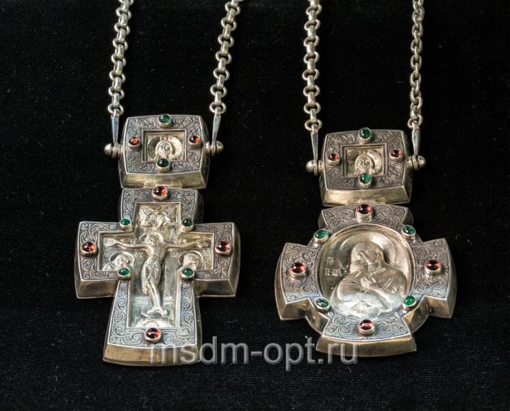 Крест и панагия. Двойник (арт.26113)