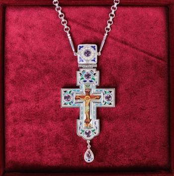 Крест с цепью (арт.37522)