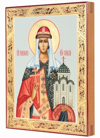 Ольга равноапостольная великая княгиня, икона (арт.38778)