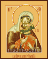 Взыграние Младенца икона Божией Матери (арт.00261)