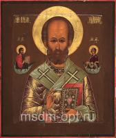 Николай чудотворец, архиепископ Мир Ликийских, святитель, икона (арт.03404)