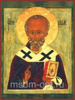 Николай чудотворец, архиепископ Мир Ликийских, святитель, икона (арт.03406)