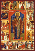 Николай чудотворец, архиепископ Мир Ликийских, святитель, икона (арт.03426)