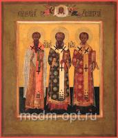 Василий, Григорий, Иоанн святители, икона (арт.03452)