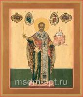 Николай чудотворец, архиепископ Мир Ликийских, святитель, икона (арт.03453)