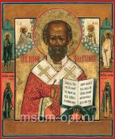Николай чудотворец, архиепископ Мир Ликийских, святитель, икона (арт.03481)