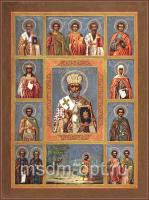 Николай чудотворец, архиепископ Мир Ликийских, святитель, икона (арт.03482)