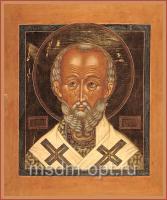Николай чудотворец, архиепископ Мир Ликийских, святитель, икона (арт.03483)