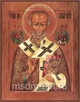Николай чудотворец, архиепископ Мир Ликийских, святитель, икона (арт.03484)