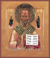 Николай чудотворец, архиепископ Мир Ликийских, святитель, икона (арт.03485)