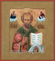 Николай чудотворец, архиепископ Мир Ликийских, святитель, икона (арт.03486)