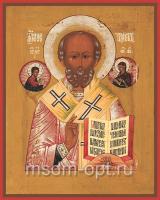 Николай чудотворец, архиепископ Мир Ликийских, святитель, икона (арт.03487)