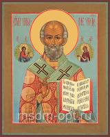 Николай чудотворец, архиепископ Мир Ликийских, святитель, икона (арт.03488)