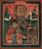 Николай чудотворец, архиепископ Мир Ликийских, святитель, икона (арт.03489)