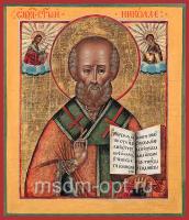 Николай чудотворец, архиепископ Мир Ликийских, святитель, икона (арт.03490)