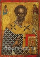 Николай чудотворец, архиепископ Мир Ликийских, святитель, икона (арт.03496)