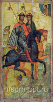 Борис и Глеб благоверные князья-страстотерпцы, икона (арт.03511)