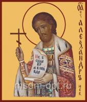 Александр Невский благоверный князь, икона (арт.00410)