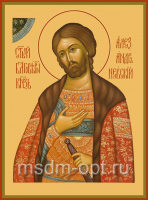 Александр Невский благоверный князь, икона (арт.00451)