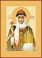 Ольга равноапостольная великая княгиня, икона 240 х 300 мм (арт.97-00457)