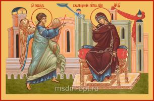Благовещение Пресвятой Богородицы, икона (арт.04646)