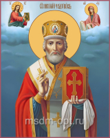Николай чудотворец, архиепископ Мир Ликийских, святитель, икона (арт.04702)