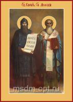 Кирилл и Мефодий равноапостольные, икона (арт.105-00485)