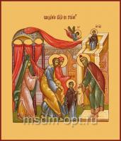 Введение во храм Пресвятой Богородицы, икона (арт.00635)