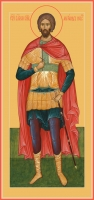 Александр Невский благоверный князь, икона (код.06417)