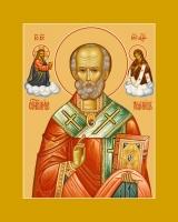 Николай чудотворец, архиепископ Мир Ликийских, святитель, икона (арт.06705)