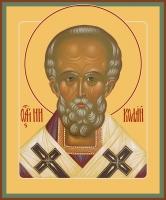 Николай чудотворец, архиепископ Мир Ликийских, святитель, икона (арт.06740)