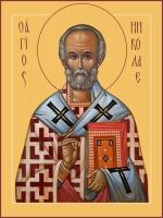 Николай чудотворец, архиепископ Мир Ликийских, святитель, икона (арт.06770)