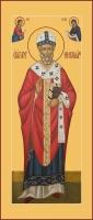 Николай чудотворец, архиепископ Мир Ликийских, святитель, икона  (арт.06799)