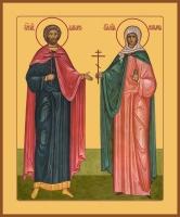 Адриан и Наталия мученики, икона (арт.06957)