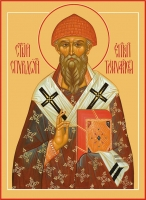 Спиридон Тримифунтский святитель, икона размер 240 х 300 мм (арт.95-00704)