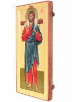 Господь Добрый Пастырь, икона писаная, 50х24см
