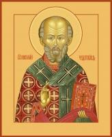 Николай чудотворец, архиепископ Мир Ликийских, святитель, икона (арт.00728)