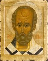Николай чудотворец, архиепископ Мир Ликийских,  святитель, икона (арт.00729)