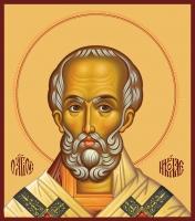 Николай чудотворец, архиепископ Мир Ликийских, святитель, икона (арт.00731)