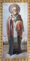 Николай чудотворец, архиепископ Мир Ликийских, святитель, икона (арт.00752)