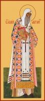 Алексий, митрополит Московский, святитель, чудотворец, икона (арт.00753)