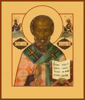 Николай чудотворец, архиепископ Мир Ликийских, святитель, икона (арт.00767)