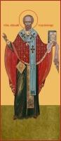 Николай чудотворец, архиепископ Мир Ликийских, святитель, икона (арт.00773)