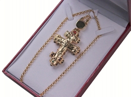 Крест на цепочке (арт.35967)