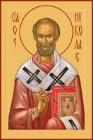 Николай чудотворец, архиепископ Мир Ликийских, святитель, икона (арт.00780)