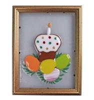 Картина в рамке «Пасхальный стол» (арт.30418)