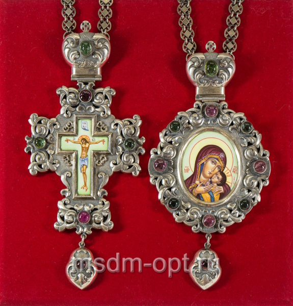 Крест и панагия. Двойник (арт.11345)