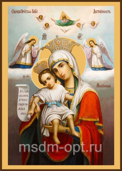 Достойно Есть (Милующая) икона Божией Матери (арт.381)
