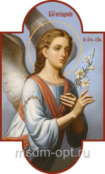 Благовещение Пресвятой Богородицы, Иконы на Царские Врата (арт.04020)