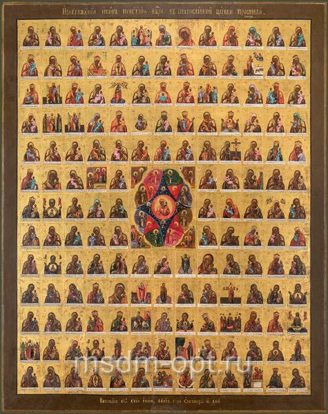 Иконы Пресвятой Богородицы в православной церквии прославляемые
